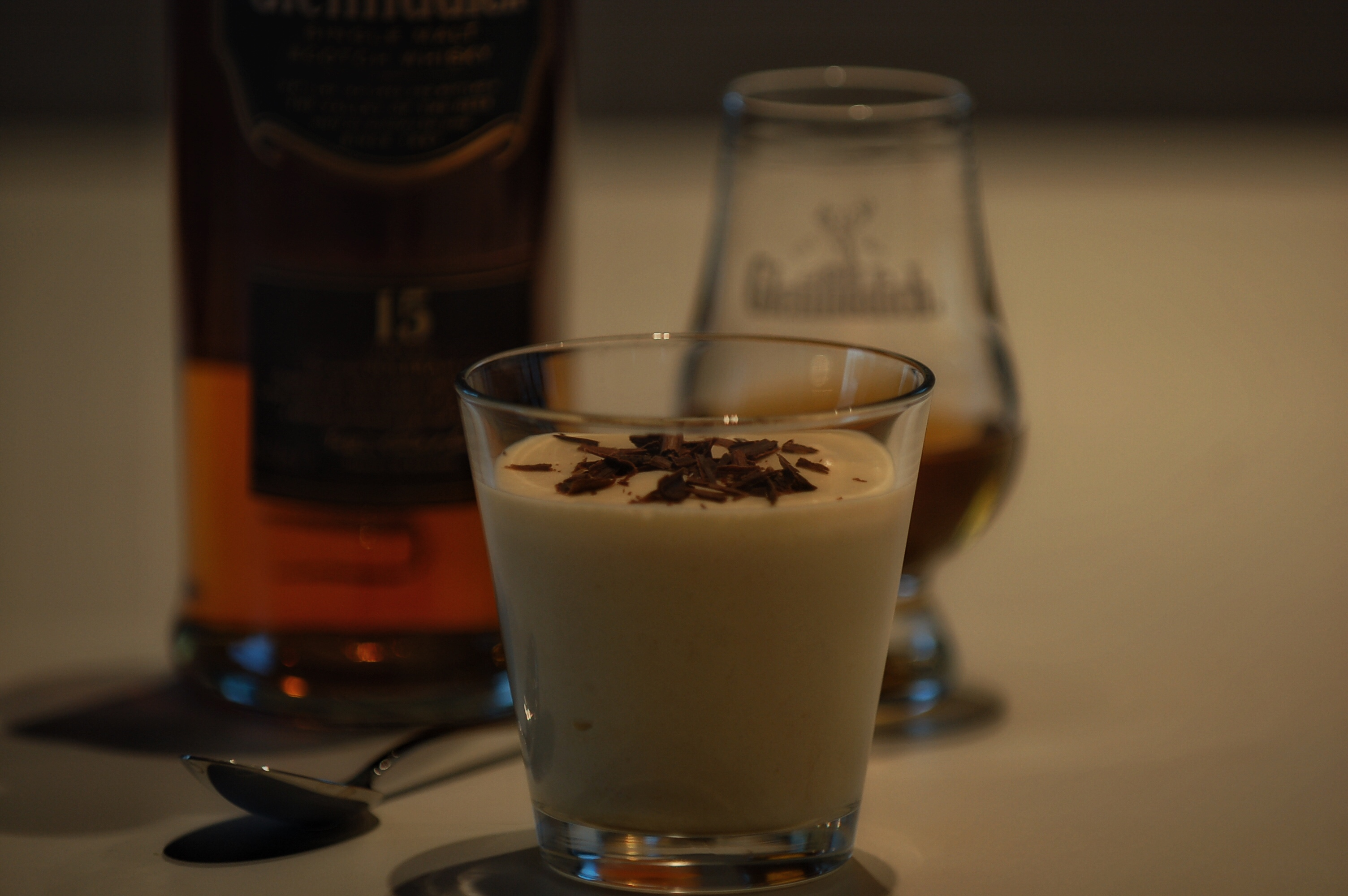 Whisky mousse