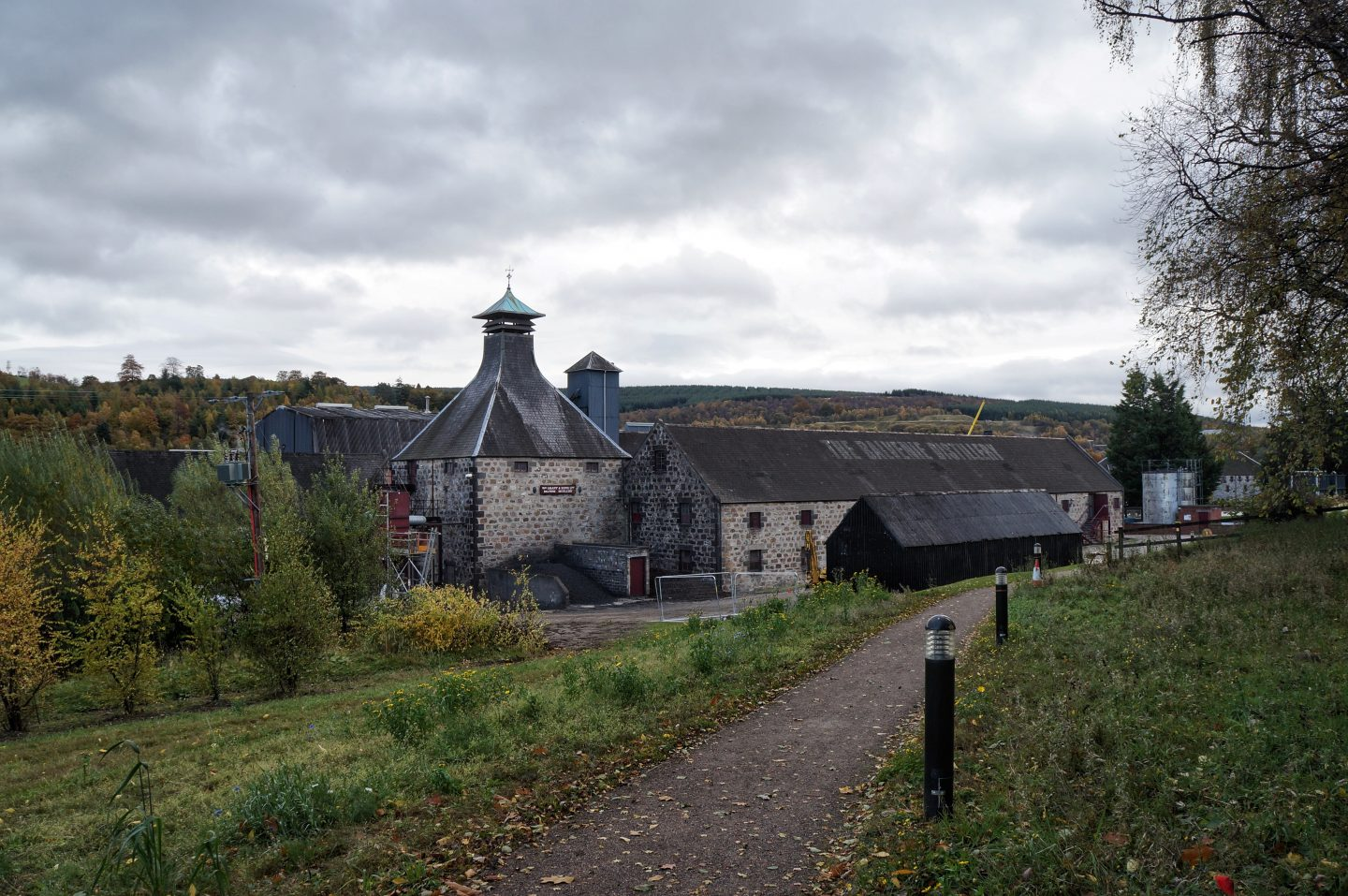 The Balvenie distillery tour