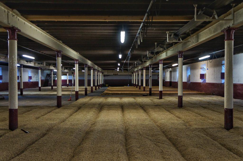 Balvenie maltings floor
