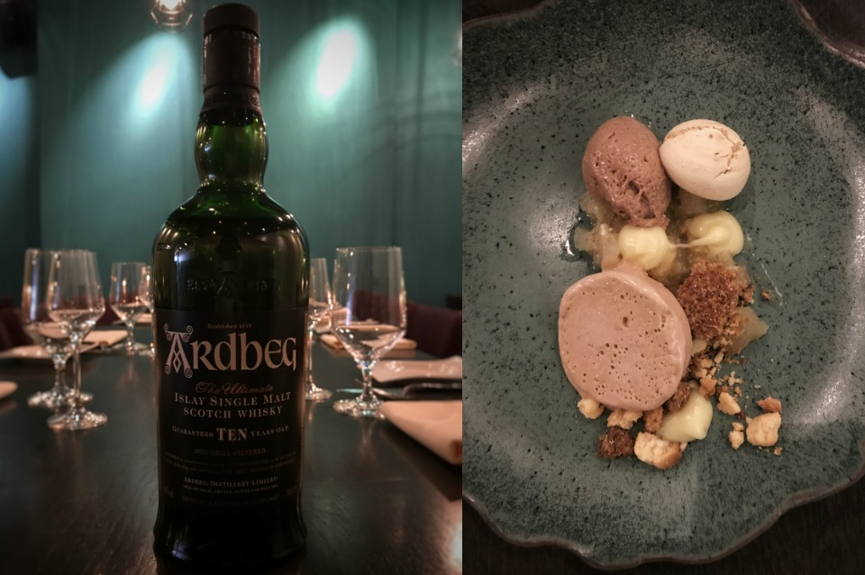 Whisky and food pairing