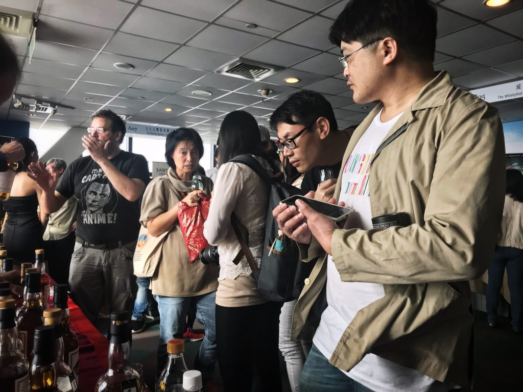 Whiskyfair Takao visitors