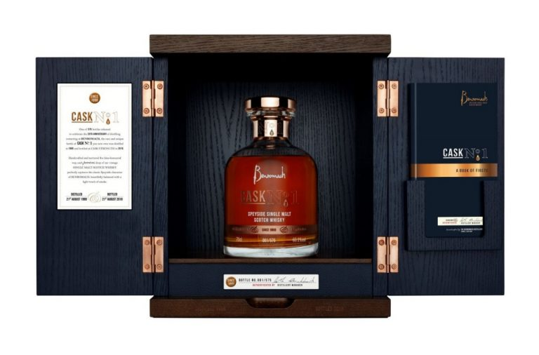 Benromach cask no.1