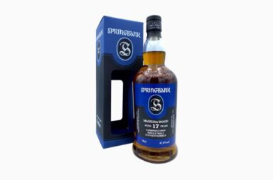 Springbank 17 year old Madeira Wood
